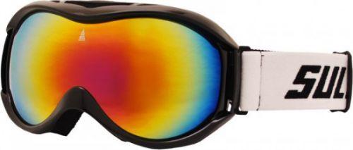 Brýle sjezdové SULOV FREE, dvojsklo, černé