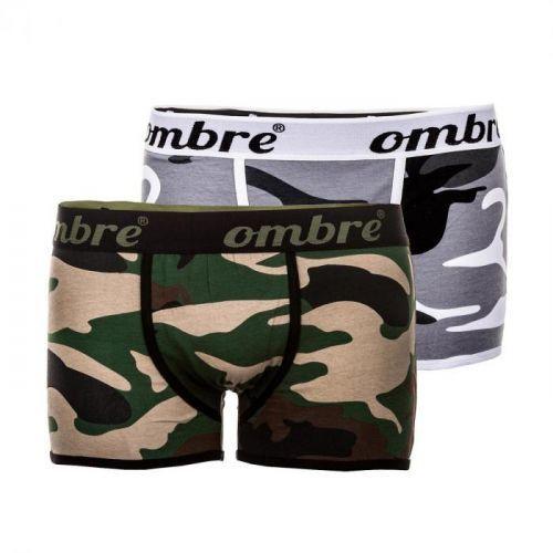 Pánske boxerky Trooper M maskáčová 2-pack