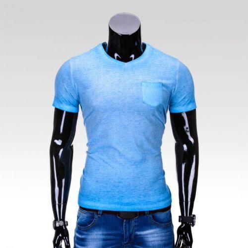 Pánske bavlnené tričko Retreat tmavo šedá S
