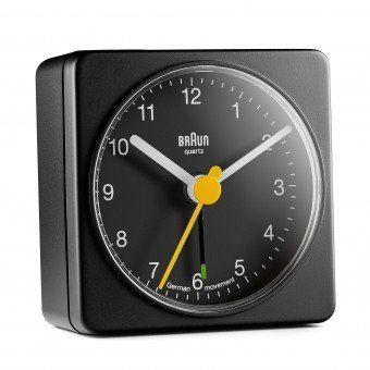 BRAUN BNC002 CLASSIC TRAVEL ALARM CLOCK/BLACK