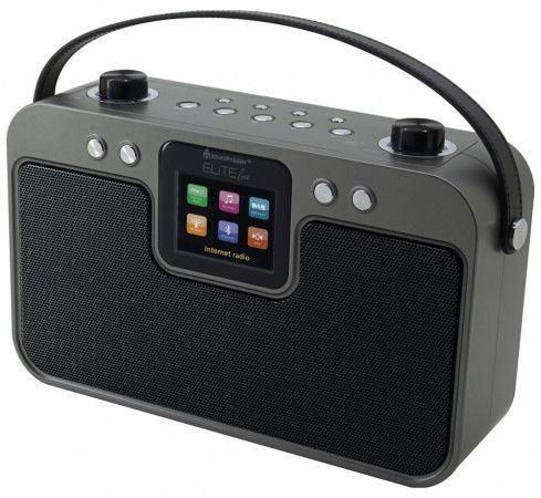 Soundmaster IR4400SW internetové přenosné rádio / FM/ UPnP / DAB+ / BT / černý