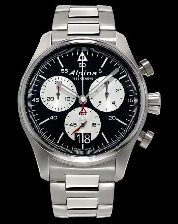 Alpina Startimer Pilot Big Date Chronograph AL-372BS4S6B + 5 let záruka, pojištění hodinek ZDARMA Miss Sixty