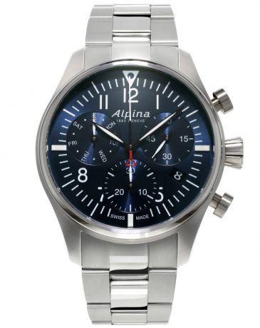 Alpina Startimer Pilot Chronograph Quartz AL-371NN4S6B + 5 let záruka, pojištění hodinek ZDARMA Miss Sixty