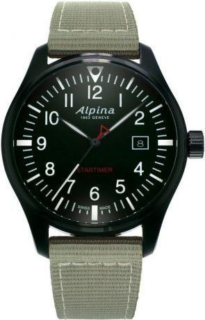 Alpina Startimer Pilot Quartz AL-240B4FBS6 + 5 let záruka, pojištění hodinek ZDARMA Miss Sixty