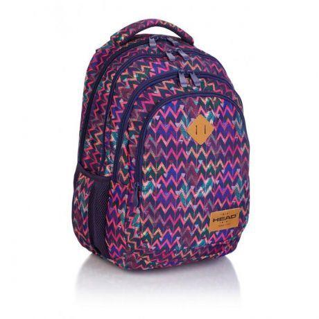 ASTRA - Studentský batoh Head 3 HD-264, zig zag Miss Sixty