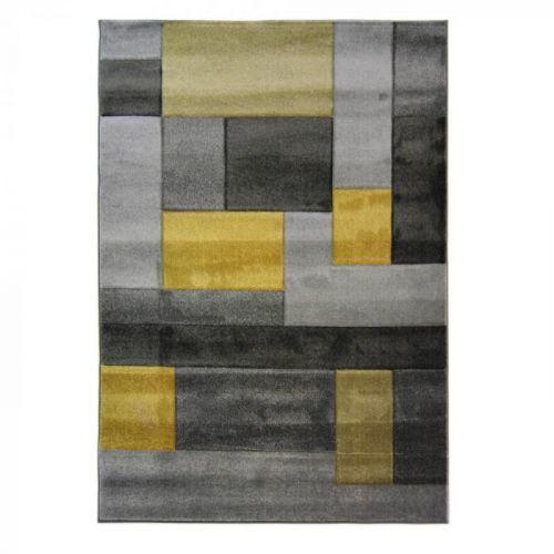 Koberec Flair Rugs Cosmos Grey Ochre, 160x230cm