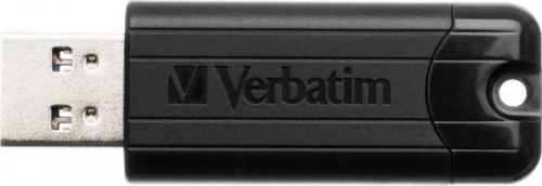 64GB USB Flash 3.0 PinStripe černý Verbatim P-blist