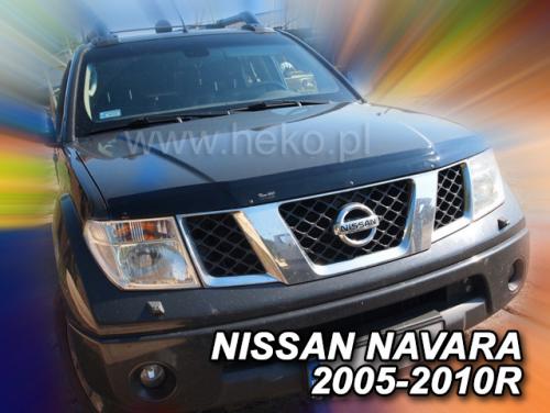 Deflektor kapoty Nissan Navara 2000-2010 (4 dveře, Pick-Up)