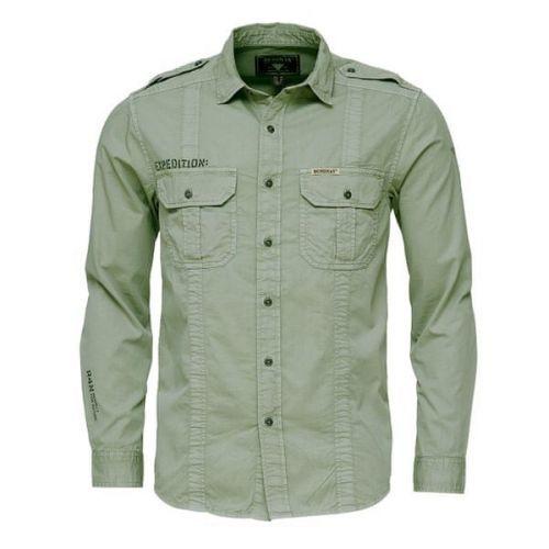 Bushman košile Indiana light olive XXXL