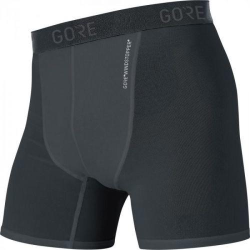 Boxerky Gore M WS Base Layer - pánské, černá - velikost 2XL