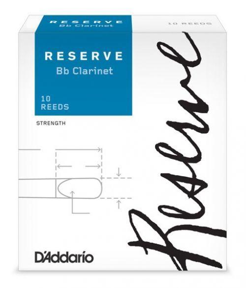 Rico DCR10355 Reserve - Bb Clarinet Reeds 3.5+ - 10 Box