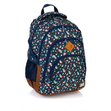 ASTRA - Studentský batoh Head HD-111 kytičky Miss Sixty