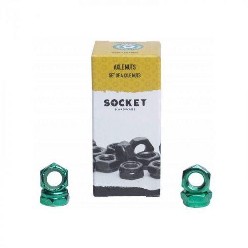 AXLE NUTS SOCKET - zelená - 5/16