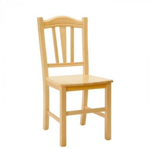 Jídelní dřevěná židle Stima SILVANA MASIV – masiv buk, nosnost 130 kg
