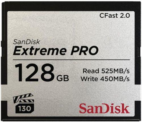 CF 128GB paměťová karta Extreme Pro CFAST 2.0 (525 MB/s) VPG130 SanDisk - 173408