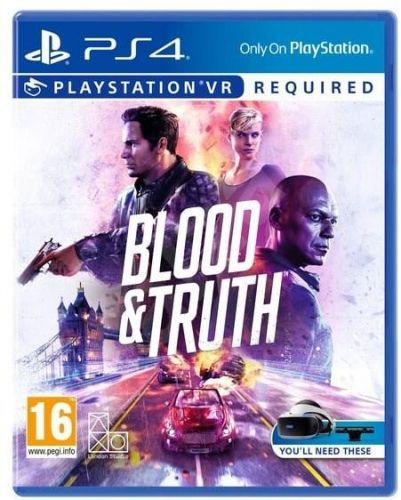 SONY PLAYSTATION PS4 VR - Blood and Truth - 29.5.2019 (PS719999096)