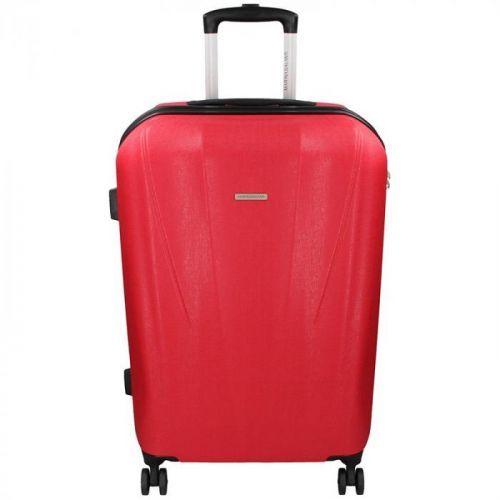 Cestovní kufr Marina Galanti Fuerta L - červená 95l