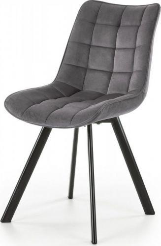 Halmar Jídelní židle K-332 - tmavě šedá