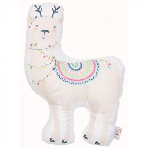 Dětský polštářek s příměsí bavlny Apolena Pillow Toy Llama, 26 x 37 cm