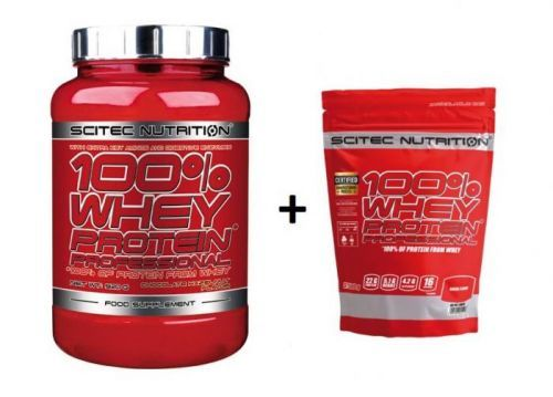 100% Whey Protein Professional - Scitec 920 g Čokoláda-Kokos