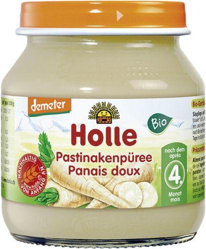 6x HOLLE BIO Pastyňákové pyré (125 g) - zeleninový příkrm