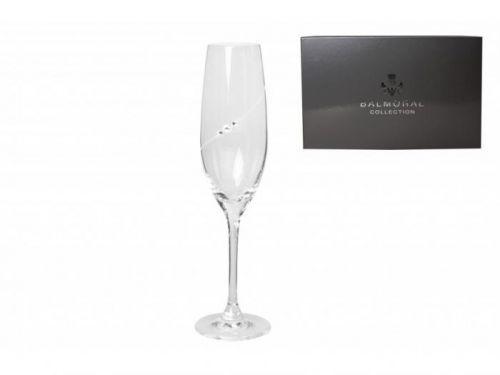 Diamante sklenice na šampaňské Silhouette City 6KS 240ml