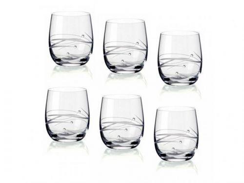 Diamante sklenice na whisky Silhouette City 6KS 250ml