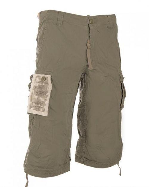 3/4 kalhoty Mil-Tec Air Combat - khaki, XXL