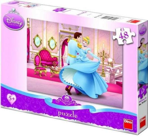 DINO Puzzle Popelka na plese Disney