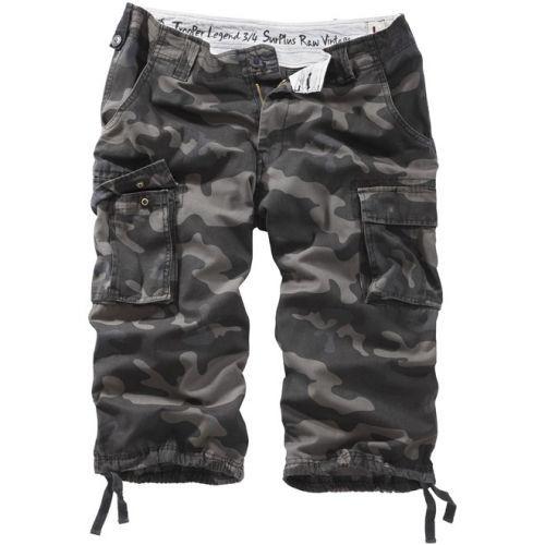 3/4 kalhoty Trooper Legend - blackcamo, XXL