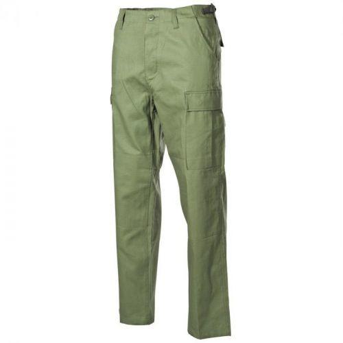 Bojové kalhoty US BDU - olivové, L