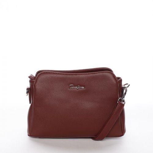 Crossbody kabelka Reina, tmavě červená