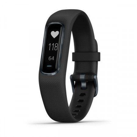 GARMIN fitness náramek vivoSmart4 Black/Slate (velikost L)