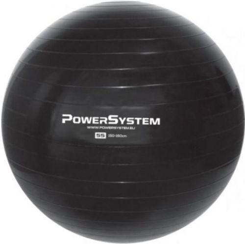 Míč Power System PRO GYMBALL 65CM BLACK 4012bk