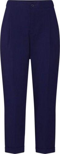 UNITED COLORS OF BENETTON Kalhoty s puky námořnická modř