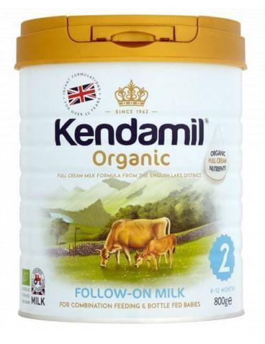 Kendamil pokračovací BIO mléko 2 (800 g) nová receptura