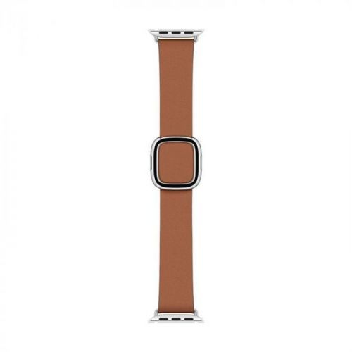 40mm Saddle Brown Modern Buckle - Small (MWRC2ZM/A)