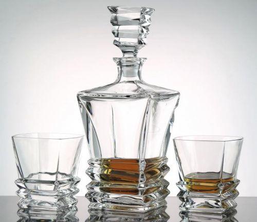 Bohemia Jihlava whisky set Rocky 1+6