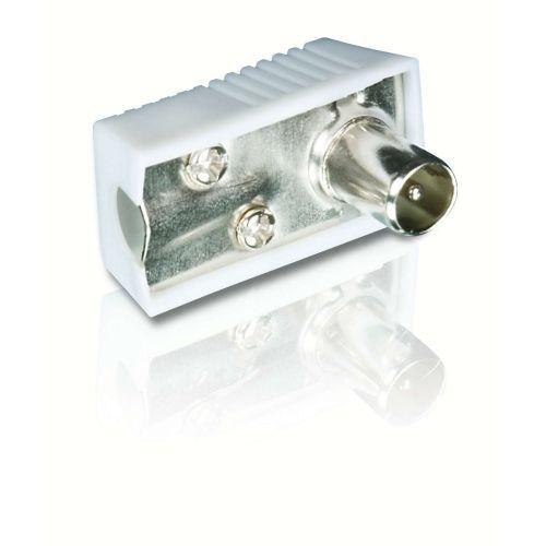 Anténní konektor IEC Philips SWV2560W/10 úhlový samec