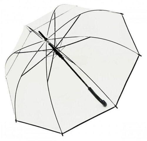 Doppler Dámský holový vystřelovací deštník Hit Long Automatic transparent Glocke 77354B01