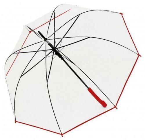 Doppler Dámský holový vystřelovací deštník Hit Long Automatic transparent Glocke 77354B02