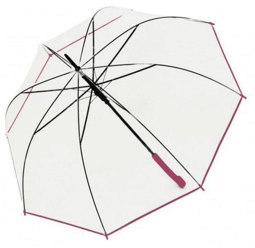 Doppler Dámský holový vystřelovací deštník Hit Long Automatic transparent Glocke 77354B05