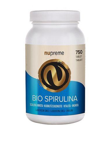 Nupreme Spirulina 750 tablet BIO