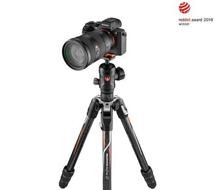 Manfrotto Befree GT Carbon  MKBFRTC4GTA-BH