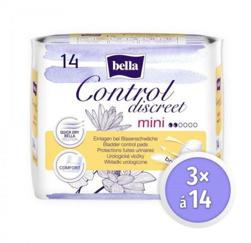 Bella Control Discreet Mini á 14 ks × 3