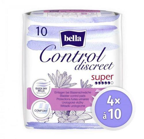 Bella Control Discreet Super á 10 ks × 4