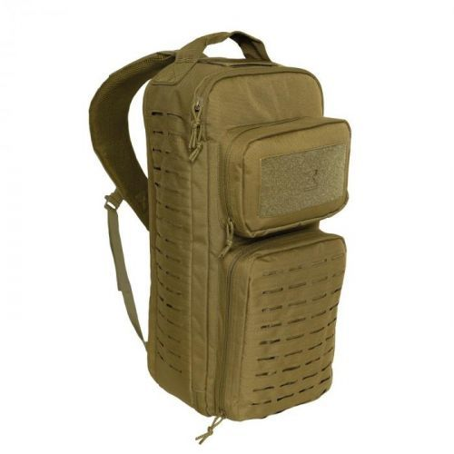 Batoh TACTICAL SINGLE SLING Laser MOLLE COYOTE