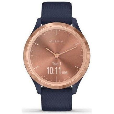 Chytré hodinky Garmin vivomove3S Sport RoseGold/Blue + DOPRAVA ZDARMA