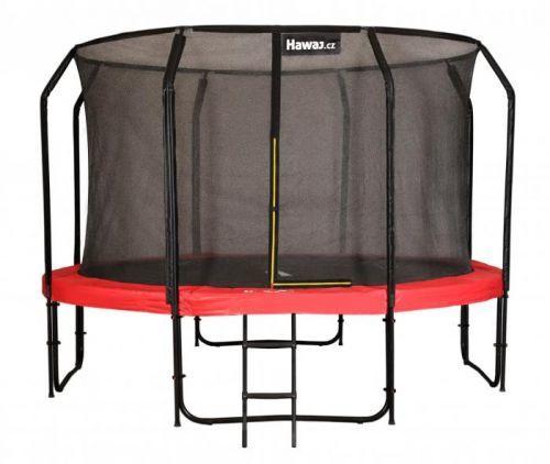 Trampolína Hawaj Premium 366 cm + vnitřní ochranná sít + schůdky