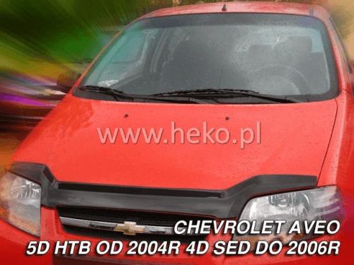 Deflektor kapoty Chevrolet Aveo 2004-2011 (hatchback)
